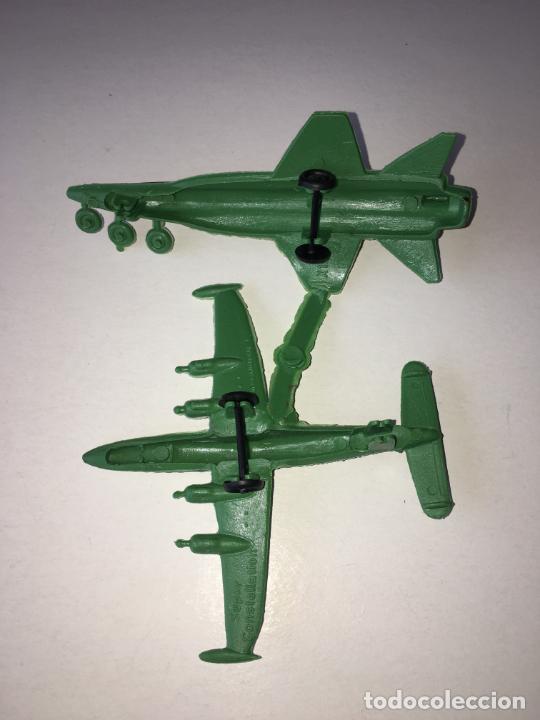 Figuras de Goma y PVC: MONTAPLEX - COLADA DE DOS AVIONES X-13 y CONSTELLATION - Foto 2 - 205744553