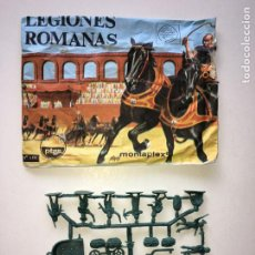 Figuras de Goma y PVC: MONTAPLEX SOBRE Nª 155 LEGIONES ROMANAS + 1 COLADA DE LEGIONARIOS. Lote 205744797