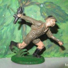 Figuras de Goma y PVC: SOLDADO BRITANICO DE GOMA-COMANSI. Lote 205747916