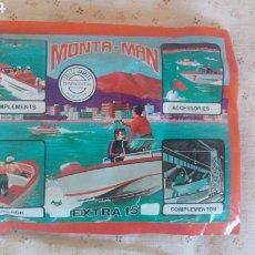 Figuras de Goma y PVC: MONTA-MAN EXTRA 15. Lote 206132235