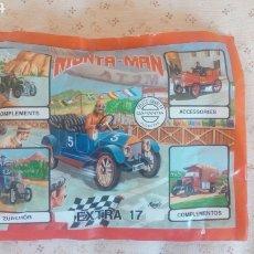 Figuras de Goma y PVC: MONTA MAN EXTRA 17. Lote 206132598