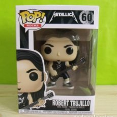 Figuras de Goma y PVC: FIGURA FUNKO POP ROBERT TRUJILLO - METALLICA. Lote 206138723
