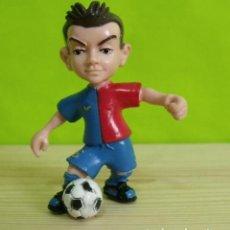 Figuras de Goma y PVC: FIGURA PVC GOMA DURA XAVI F.C BARCELONA (BARÇA) - YOLANDA. Lote 206147122