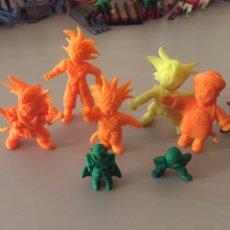 Figuras de Goma y PVC: DRAGÓN BALL 5+2 FIGURAS DE GOMA.. Lote 206163033