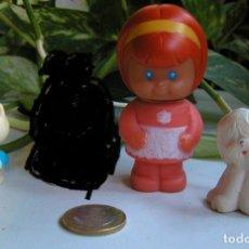 Figurines en Caoutchouc et PVC: LOTE DE 3 FIGURAS DE GOMA O PVC DÉCADA DE LOS 80 FIGURA DE GOMA O PVC. Lote 59035560