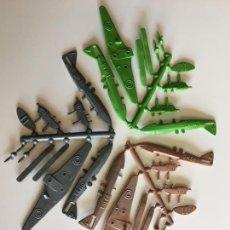 Figuras de Goma y PVC: MONTAPLEX 3 COLADAS DEL AVIÓN DHAVILLAND DH-88 - KIOSKO AÑOS 70´S. Lote 234171200