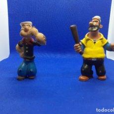 Figuras de Goma y PVC: FIGURAS BRUTUS Y POPEYE COMICS SPAIN.. Lote 206186173