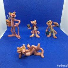 Figuras de Goma y PVC: LOTE 4 FIGURAS PANTERA ROSA.. Lote 206187230