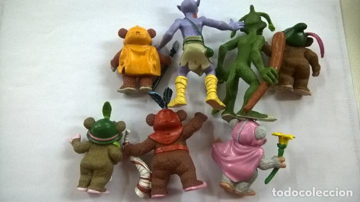 Figuras de Goma y PVC: LOTE DE 7 FIGURAS EWOKS-STAR WARS-COMICS SPAIN-L F L-1986-KEZ-DULOK-BAS-PAPLOO-LATARA-KNEESA - Foto 2 - 206233858