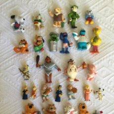 Figuras de Goma y PVC: LOTE AÑOS 80 DIFERENTES MARCAS. Lote 206253123