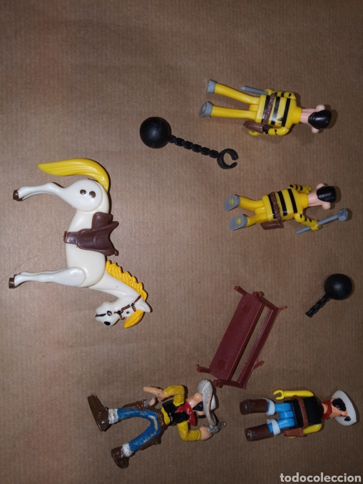 Figuras de Goma y PVC: LOTE COMANSI LUCKY LUKE - Foto 16 - 206270843