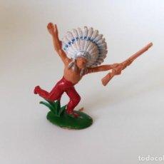 Figuras de Goma y PVC: FIGURA INDIO PECH HNOS. Lote 206348211