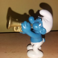 Figuras de Goma y PVC: PITUFO TROMPETISTA SCHLEICH 2006. Lote 206356931