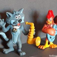 Figuras de Goma y PVC: FIGURAS LOS TROTAMUSICOS 1989. Lote 206359585