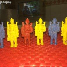 Figuras de Goma y PVC: LOTE 6 ASTRONAUTAS - HOMBRES DEL ESPACIO - PVC - 6 CMS. - DIFERENTES. Lote 206392541
