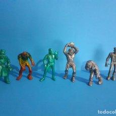 Figuras de Goma y PVC: LOTE DE 6 FIGURAS SÚPER MONSTRUOS. COMANSI.. Lote 206405848