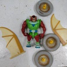 Figuras de Goma y PVC: CAZAFANTASMAS LOBO Y PIEZAS SUELTAS COCHE. Lote 206409078