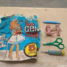 Figuras de Goma y PVC: SOBRE DE KIOSKO ENFERMERA DE URGENCIA - SERJANGIRLS - BARCELONA - TIPO MONTAPLEX -. Lote 206409861