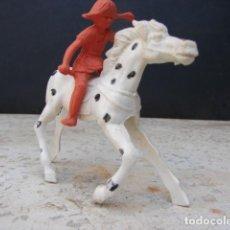 Figuras de Borracha e PVC: PIPPI CALZASLARGAS Y SU CABALLO PEQUEÑO TIO - PIPI LANGSTRUMP - LAFREDO. Lote 206432557