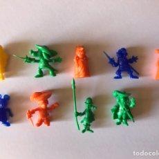 Figuras de Goma y PVC: LOTE FIGURAS DARTACAN PHOSKITOS DUNKIN. Lote 206437965