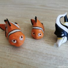 Figuras de Goma y PVC: 3 FIGURAS PVC ... BUSCANDO A NEMO. Lote 206439367