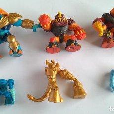 Figuras de Goma y PVC: GORMITI LOTE DE FIGURAS ,TAL CUAL FOTOS. Lote 206446260
