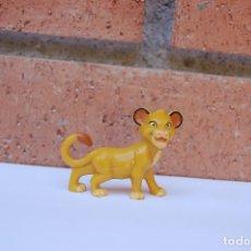 Figuras de Goma y PVC: FIGURA REY LEON . DISNEY - NESTLE. Lote 206454596