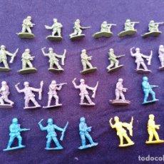 Figuras de Goma y PVC: SOLDADITOS PLASTICO MINIATURA. Lote 206456036