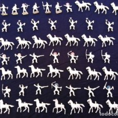 Figuras de Goma y PVC: INDIOS PLÁSTICO MINIOESTE DE COMANSI. Lote 206456321