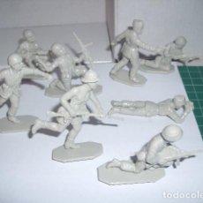 Figuras de Goma y PVC: 1/32 COMANSI PECH REAMSA HAT, INFANTERIA ITALIANA EL ALAMEIN. PLASTIC SOLDIERS. Lote 206495521