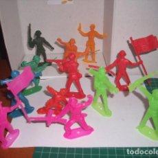 Figuras de Goma y PVC: 1/32 COMANSI PECH REAMSA JECSAN SOLDADOS USA 75 MM. PLASTIC SOLDIERS. Lote 206498968