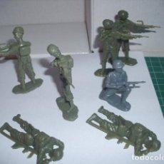 Figuras de Goma y PVC: 1/32 COMANSI PECH REAMSA PARACAIDISTAS INGLESES 2 / 60 MM. PLASTIC SOLDIERS. Lote 206499143