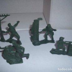 Figuras de Goma y PVC: 1/32 COMANSI PECH REAMSA SOLDADOS USA MODERNOS 2 / 40 MM. PLASTIC SOLDIERS. Lote 206499540