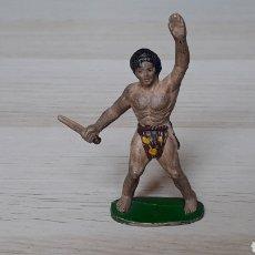 Figuras de Goma y PVC: TARZAN, FABRICADO EN *GOMA* MANUEL SOTORRES, ORIGINAL AÑOS 50.. Lote 206503340