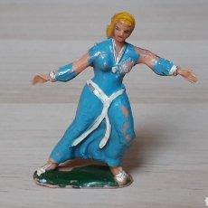 Figuras de Goma y PVC: SIGRID SERIE CAPITÁN TRUENO, PLÁSTICO, ESTEREOPLAST, ORIGINAL AÑOS 50-60.. Lote 206503630