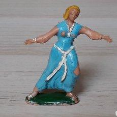 Figuras de Goma y PVC: SIGRID SERIE CAPITÁN TRUENO, PLÁSTICO, ESTEREOPLAST, ORIGINAL AÑOS 50-60.. Lote 206503643