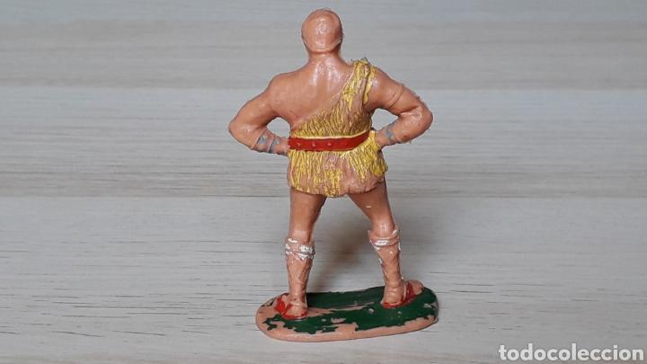 Figuras de Goma y PVC: Taurus serie El Jabato, plástico, Estereoplast, original años 50-60. - Foto 2 - 206503673