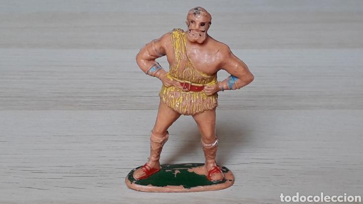 TAURUS SERIE EL JABATO, PLÁSTICO, ESTEREOPLAST, ORIGINAL AÑOS 50-60. (Juguetes - Figuras de Goma y Pvc - Estereoplast)