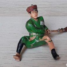 Figuras de Goma y PVC: EL COSACO VERDE, PLÁSTICO, ESTEREOPLAST, ORIGINAL AÑOS 50-60.. Lote 206503750