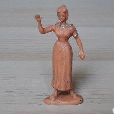 Figuras de Goma y PVC: CLAUDIA, SERIE EL JABATO, PLÁSTICO, ESTEREOPLAST, ORIGINAL AÑOS 50-60.. Lote 206503800