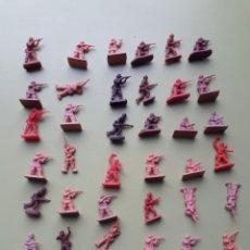 Figuras de Goma y PVC: 36 SOLDADOS JAPONESES MONTAPLEX. Lote 206538061