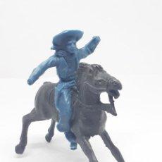 Figuras de Goma y PVC: HEROES DEL OESTE COMANSI REIGON JECSAN CABALLO INDIO VAQUERO. Lote 206587751