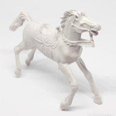 Figuras de Goma y PVC: HEROES DEL OESTE COMANSI REIGON JECSAN CABALLO BLANCO. Lote 206589581