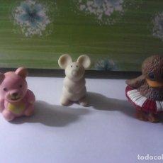 Figuras de Goma y PVC: LOTE 3 FIGURAS AÑOS 80. Lote 206595053