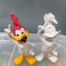 Figuras de Goma y PVC: LOTE 2 FIGURAS SERIE PAJARO LOCO COMICS SPAIN SIN PINTAR Y A MEDIO PINTAR RAREZA!!!!!!!. Lote 206602098