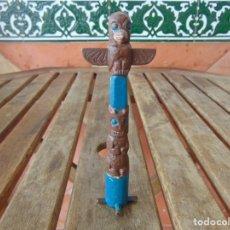 Figuras de Goma y PVC: TOTEM INDIO. Lote 206783115