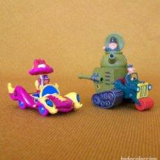 Figuras de Goma y PVC: DUNKIN DE LUXE / 2 AUTOS LOCOS HANNA-BARBERA. Lote 206784476