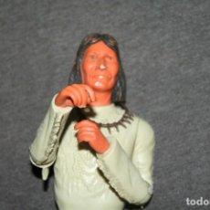 Figuras de Goma y PVC: ANTIGUO MUÑECO INDIO JERONIMO MADE IN USA. Lote 206794305