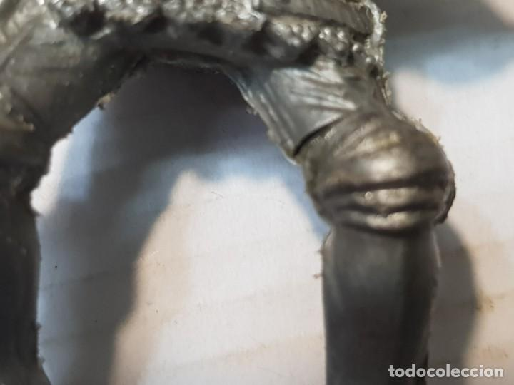 Figuras de Goma y PVC: Figura Lafredo Guerrero medieval a caballo escasa - Foto 3 - 206826521