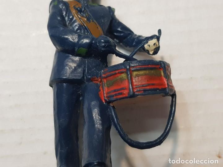 Figuras de Goma y PVC: Figura Reamsa Desfile Alfonso XIII a tambor - Foto 5 - 206827400